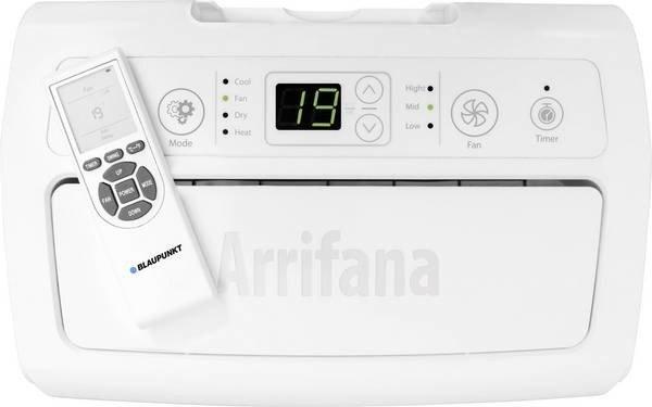 klimatyzator Arrifana 12C  - funkcje