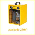 nagrzewnice elektryczne 230V