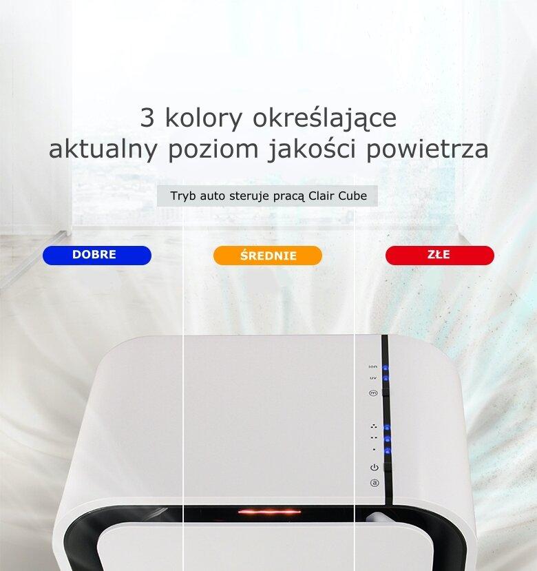 Oczyszczacz powietrza Clair Cube Plus