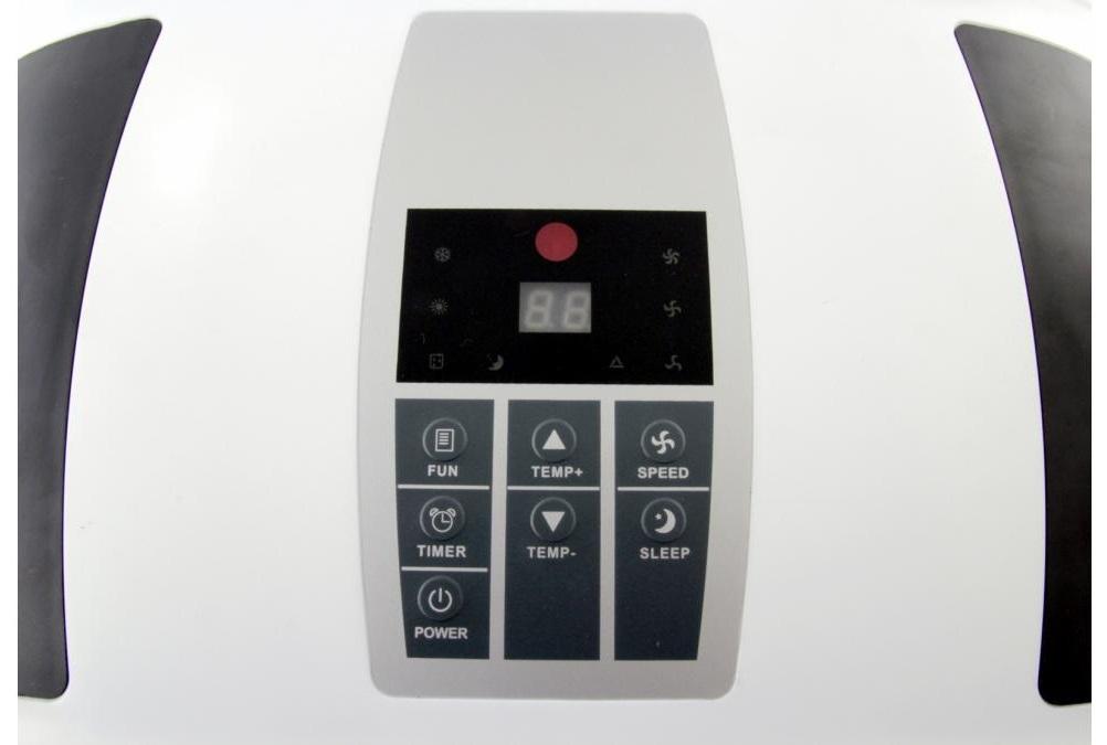 Klimatyzator Fral 14.1 SC - panel sterowania