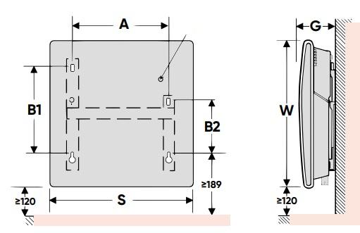 Grzejnik elektryczny Altis Wi-Fi