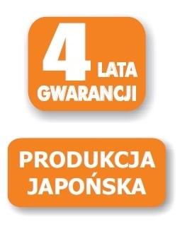 4 lata gwarancji